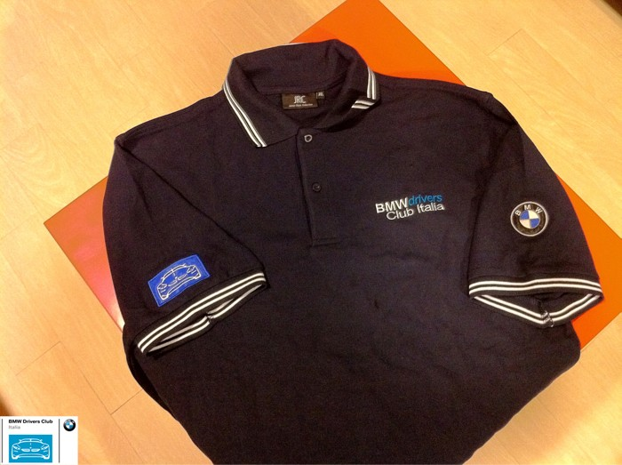 BMW Drivers merchandise - polo del Club