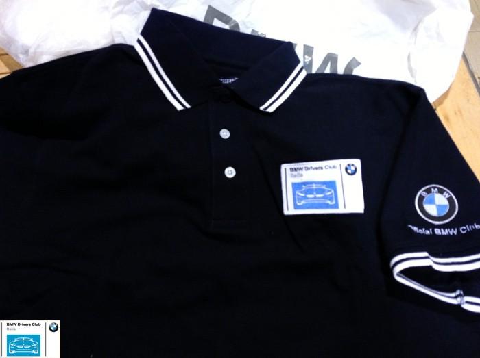 BMW Drivers merchandise - polo del Club