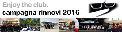 Campagna Rinnovi BMW Drivers Club Italia 2016