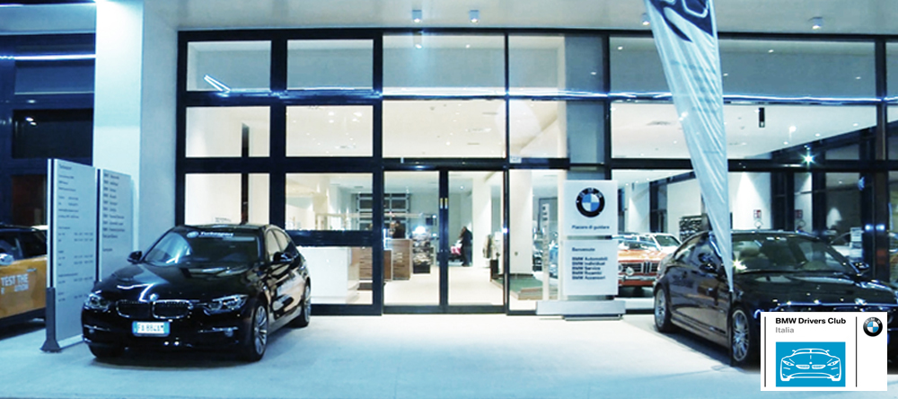 La sede del BMW Drivers Club Italia