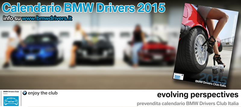 Calendario BMW Drivers 2015 - evolving perspectives
