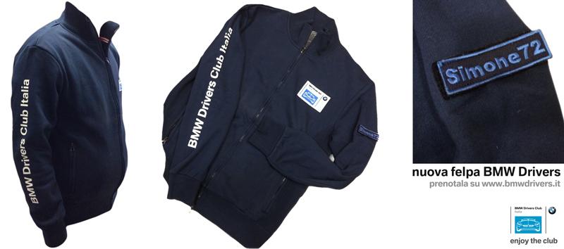abbigliamento e gadget del BMW Drivers Club Italia